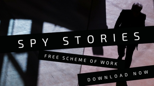 Download my new spy stories scheme of work now