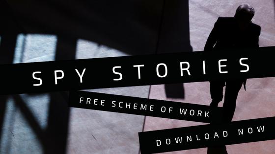 Download my new spy stories scheme of work now